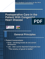 Post Op Cardiac Care