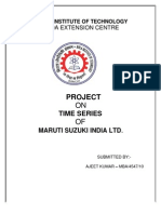 26762598 Trend Analysis in Maruti Suzki New