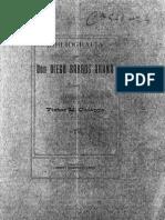 Bibliografía de don Diego Barros Arana (Ensayo). (1907)
