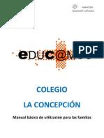 Manual Para Familias plataforma Educ@Mos