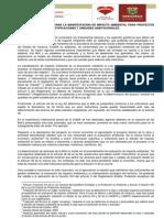Instructivo Para Elaborar La m i a Para Proyectos de Fraccionamientos Lotificaciones y Unidades Habitacionales