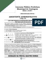 101 - Assistente Administrativo