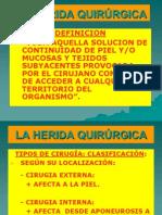 Tema 6 - La Herida Quirurgica