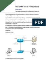 Activer Le Service DHCP Sur Un Routeur Cisco