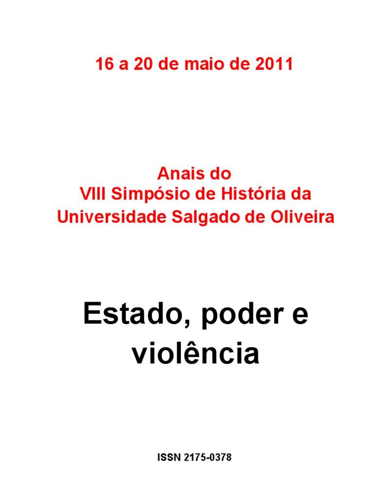 143cf5db7d Anais do VIII Simpósio Universo - completo - Luciano Daniel de Souza