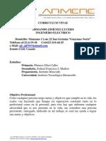 Curriculum Armando Jimenez Lucero