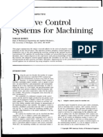 Adaptive Control Systems for Machining