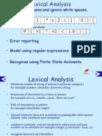 Lexical Analysis1