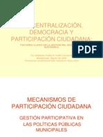 PARTICIPACIPACION CIUDADANA