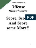 Offense 08 Play Diagrams