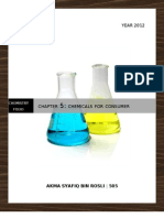 Chemistry Form 5 Chapter 5 Chemicals for Consumer