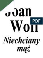 Wolf Joan - Niechciany mąż