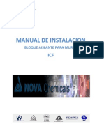Manual Instalacion Icf Poliestireno Exp
