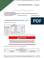 Transmission and Torque Converter - Test