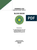 Block Book Kriminologi