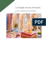Teachings of Kapila
