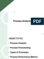 OM Process Flow Analysis