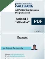 Unidad8 ProgI Metodos Clase1-2010-2