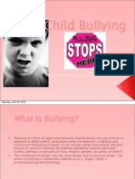 Child Bullying- Great