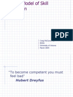 Dreyfus Model of Skills Acquisition (1)