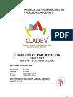 Cuaderno de Participacion CLADE V
