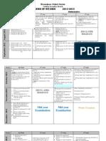 Scheme,Maths X 2012 13