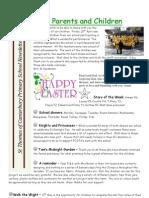Newsletter 27th Apr