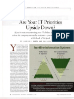 Are Your IT Priorities Upside Down