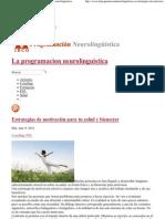 Estrategias para la motivación _ La programacion neurolinguistica