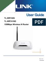TP-LINK TL-WR741ND