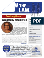 Know the Law Issue 1