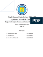 Tugas Kelompok - Studi Kasus Metodologi SQUARE Aplikasi Web PSB Online