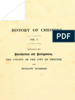 History of Cheshire Vol 1 Ormerod