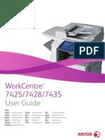 Manuale Utente Xerox 7435