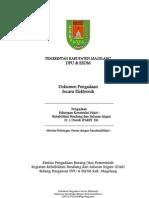Dokumen Pengadaan Rehabilitasi Bendung Dan Saluran Irigasi d.i. Diwek