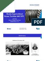 660 Mw Skoda Turbine