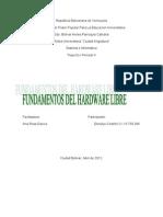 Fundamentos Del Hardware Libre
