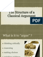 Structure of Classical Argumentv2[1]