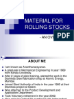 Material for Rolling Stocks