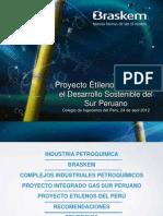 Proyecto Etilenos del Perú y el Desarrollo Sostenible del Sur Peruano