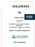 Middleware seminar report