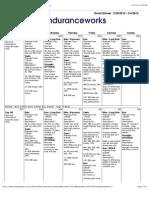 Sample Im Schedule