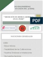 """"""" MEDICIÓN DE HIDROCARBUROS EN EL PERÚ"""""""