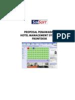 Proposal Penawaran SIMSOFT HMS FrontDesk