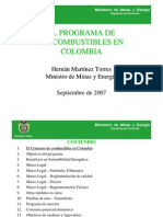 Bio Combustibles en Colombia - Cartagena Septiembre 7 2007minas