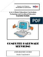 k to 12 Pc Hardware Servicing Learning Module