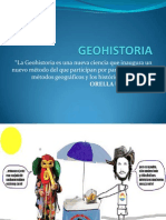GEOHISTORIA DIAPOSITIVASs