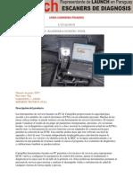Catalogo Escaners Para Camiones Pesados