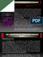 Les 1001 Aberrations de l'intelligence humaine