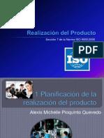 Planificación de la realización del producto